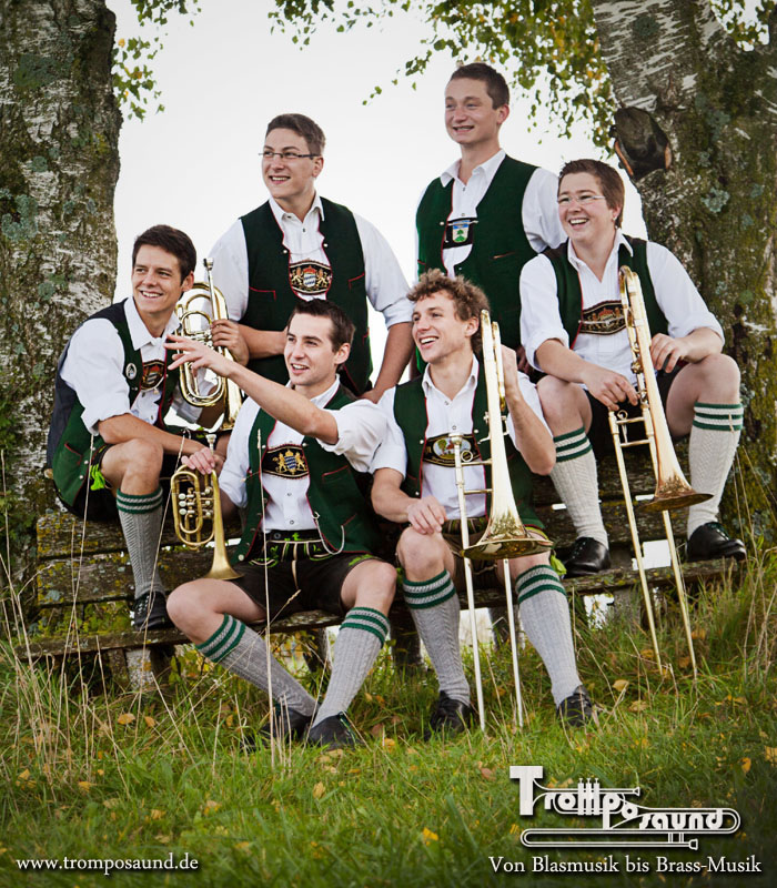 Bavarian Brass-Music band
